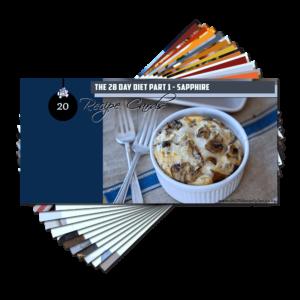 Recipe Cards – Sapphire Pack (E-Book)