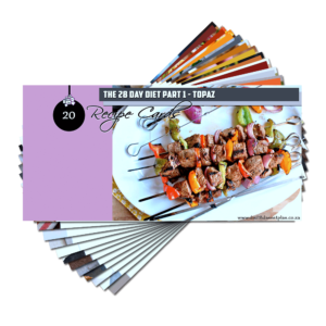 Recipe Cards – Topaz Pack (E-Book)